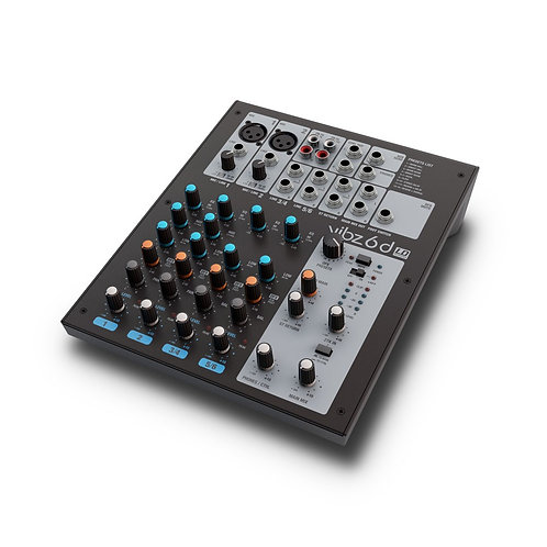 CONSOLE MIX LD SYSTEMS VIBZ 6D | Indie MusicShop