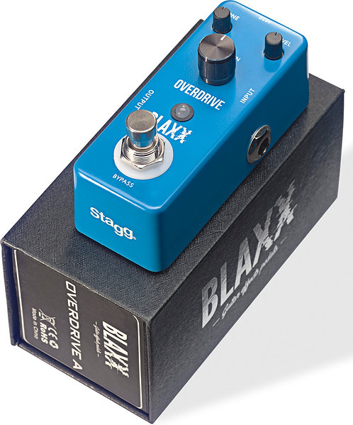 PEDALE D'EFFET | STAGG BLAXX DRIVE A | Indie MusicShop