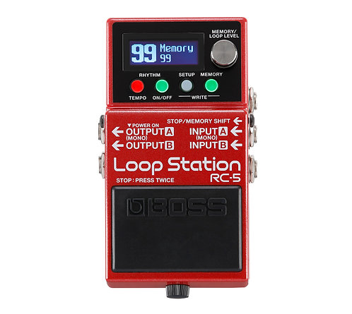 PEDALE LOOPER | BOSS RC-5 | Indie MusicShop