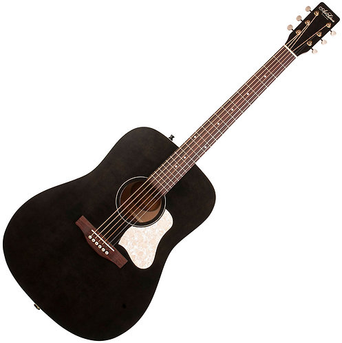 GUITARE FOLK ACOUSTIQUE | ART & LUTHERIE AMERICANA FADED BLACK | Indie MusicShop
