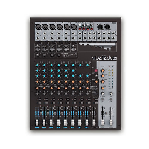 CONSOLE MIX LD SYSTEMS VIBZ 12DC | Indie MusicShop