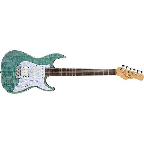 GUITARE ELECTRIQUE | MICHAEL KELLY 1963 BLUE JEAN WASH | Indie MusicShop