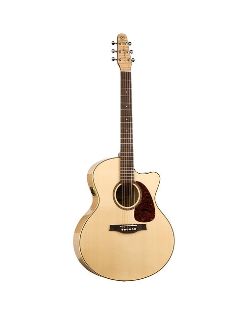 GUITARE FOLK ELECTRO-ACOUSTIQUE | SEAGULL PERFORMER CW MINI JUMBO HG QIT | Indie MusicShop