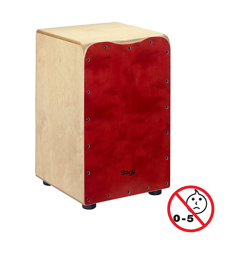 PERCUSSION | STAGG CAJON 50M-RD| Indie MusicShop