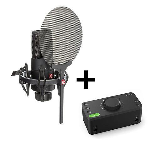 HOME STUDIO   sE ELECTRONICS X1 S RECORDING BUNDLE INTRO   Indie MusicShop