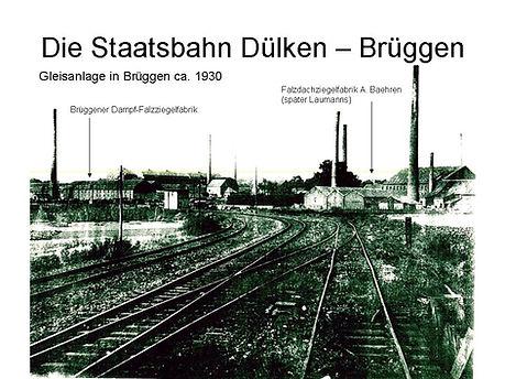 Die Staatsbahn Dülken-Brüggen Klimp