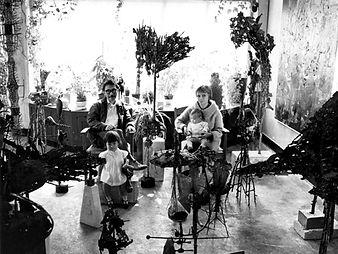 Family photo in studio, Amsterdam
