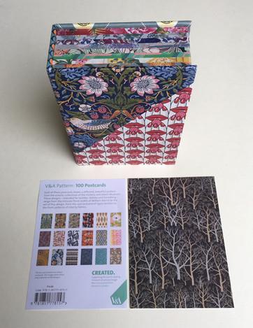 V&A Pattern: 100 Postcards box