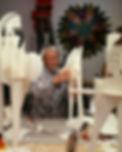 Tajiri working on centafoam Ronin