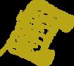 goldenes Pergament