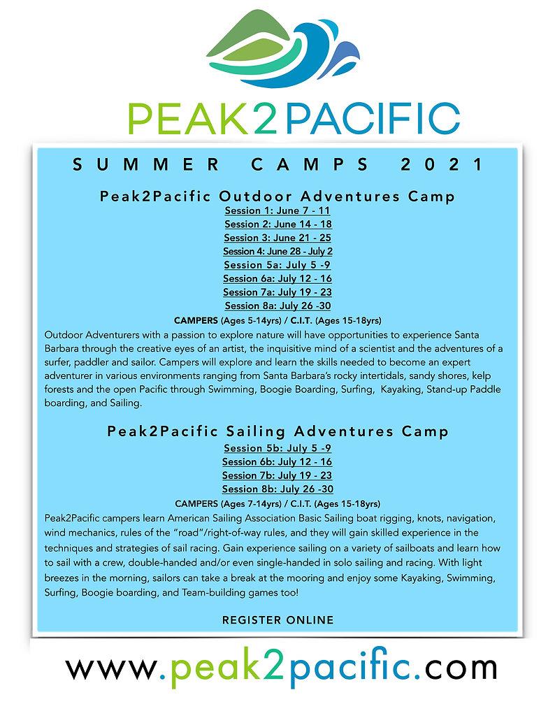 P2P Summer Camp 2021 Session Dates blue.