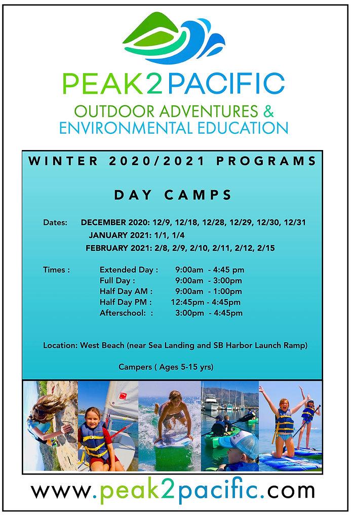 P2P Winter2020:21 Program Logos DAY CAMP