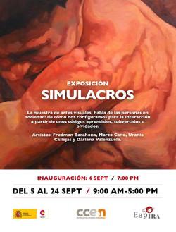 Exposición Simulacros