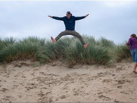 Dans les dunes de St-Ide...