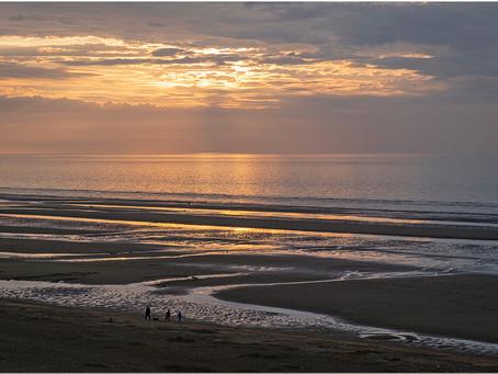 Le soleil se couche à Sint-Idesbald et nulle part ailleurs ...