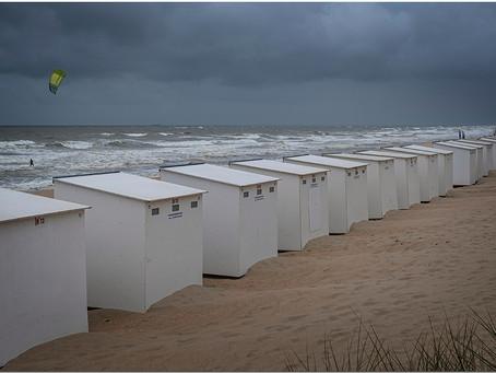 Sale temps pour les cabines de plage ...