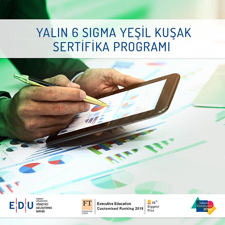 Yalın 6 Sigma Yeşil Kuşak Eğitimi-Çevrimiçi