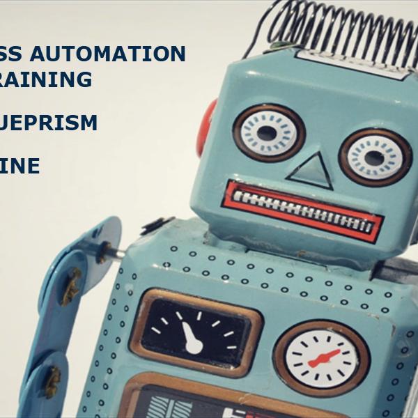 Blueprism ile Robotik Süreç Otomasyonu Eğitimi-Çevrimiçi (İngilizce)