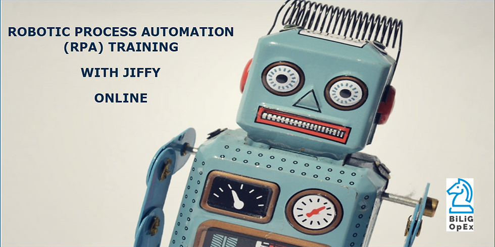 Robotic Process Automation Training with Jiffy-Online