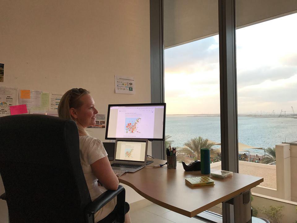 eWavelength office Al Raha Beach Abu Dhabi