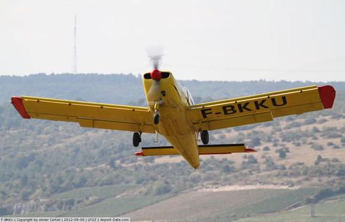 F-BKKU au décollage