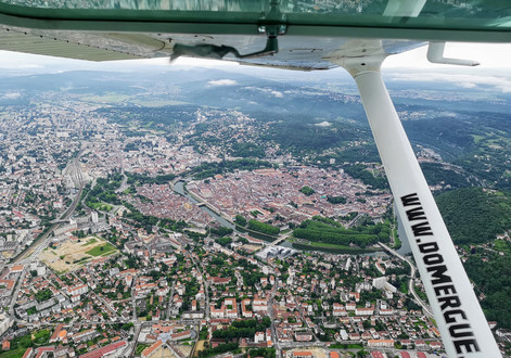 Besançon depuis le C172