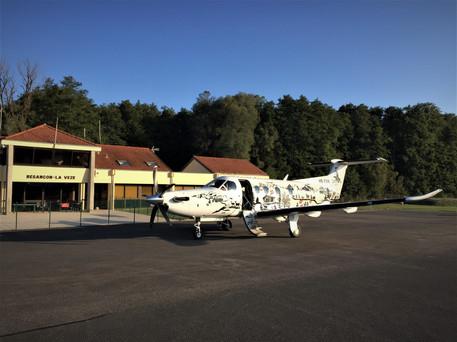 Pilatus PC12 de démonstration