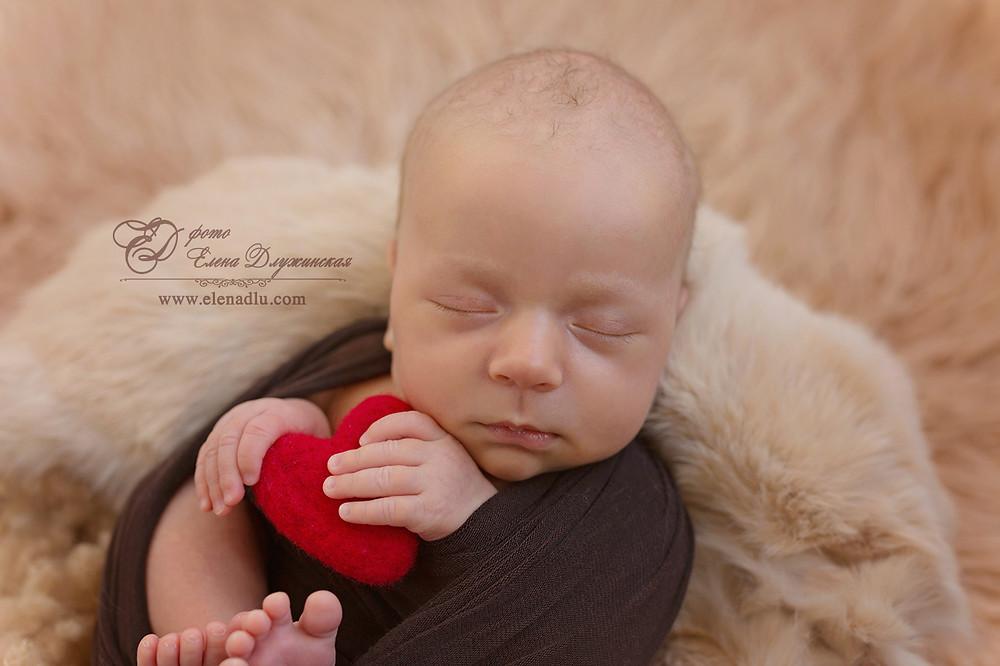 новорожденный, малыш, съемка