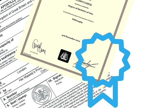Notary and FCO Apostille Certificate/Document Full Package.