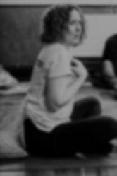 Liz Sheridan, BellyTots Instructor, at BellyTots Pregnancy Yoga