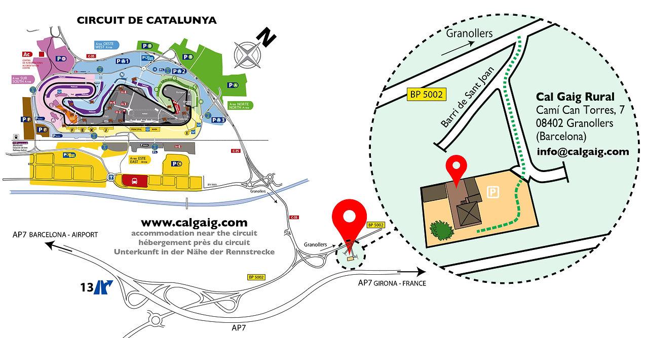 alojamientos CIRCUITO DE CATALUNYA