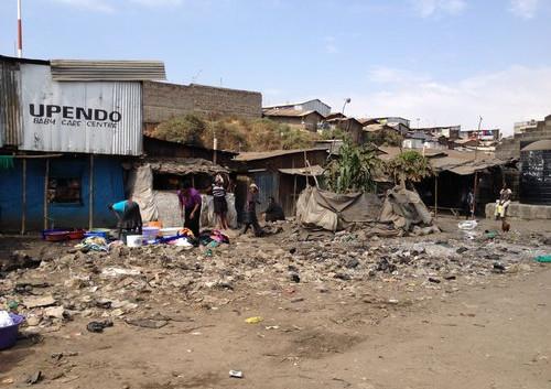 Mathare - oldest slum in Nairobi