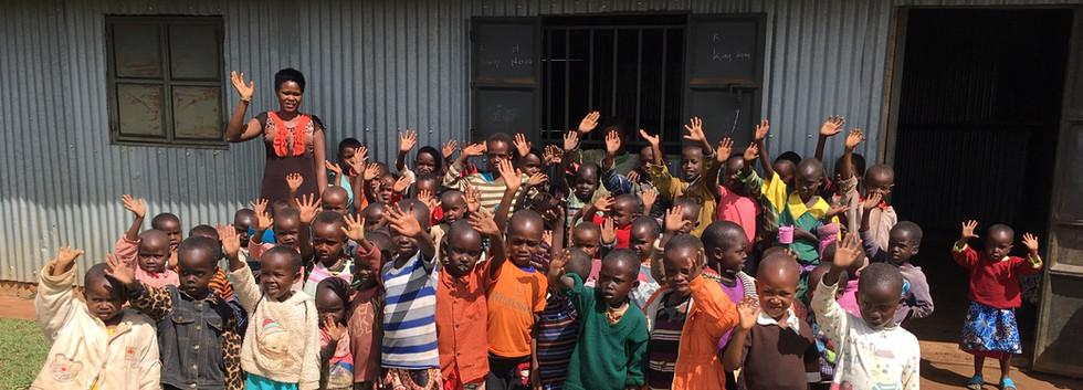Greetings from a potential Montessori school in Samburu