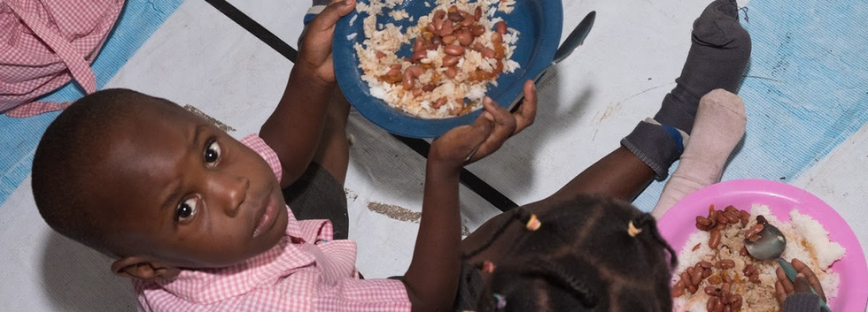 BTCG provides meals twice a day to students in their schools