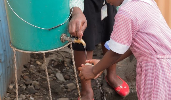 CLEAN water and a lesson in hygiene