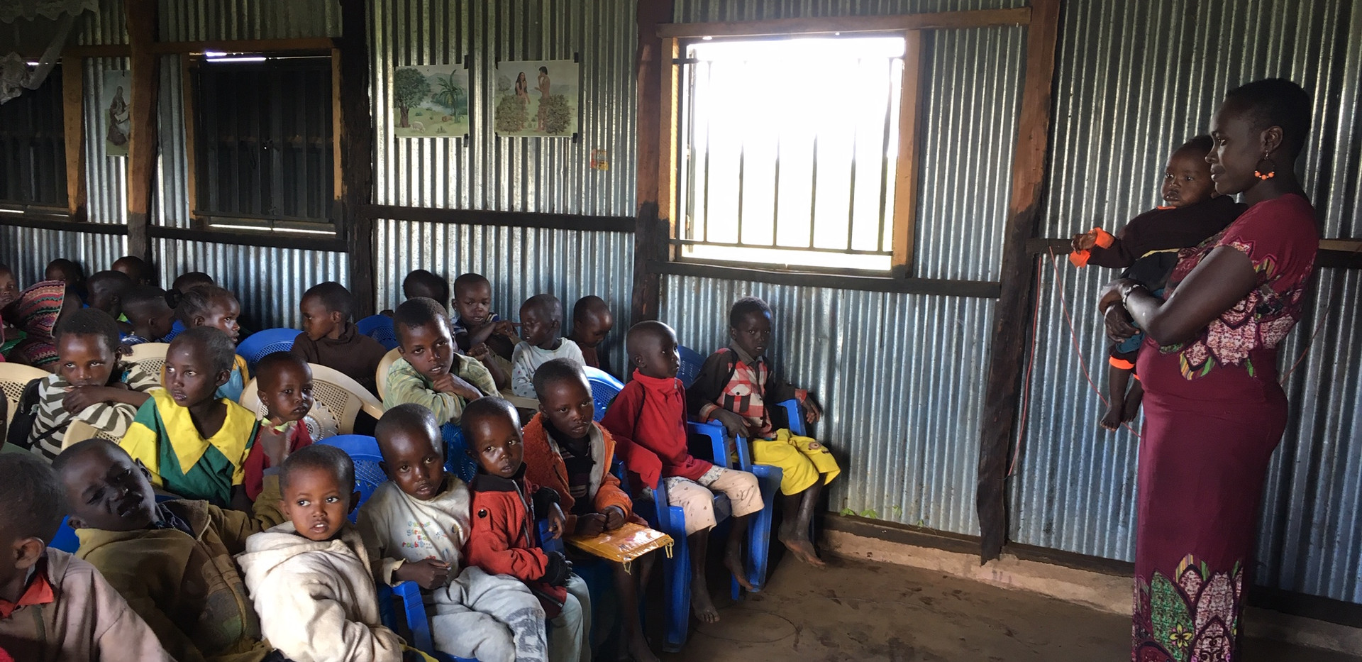 Steria desperately needs Montessori training to help her many students