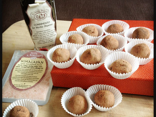 Making truffles and eats with goodies from McEwan