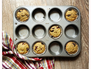 Coconut flour berry muffins