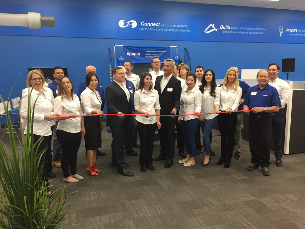 Uponor Office Grand Opening