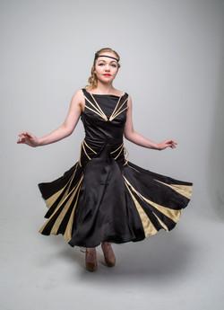 Ballroom dancers dress