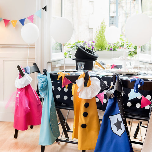 Box de fêtes : capes simples