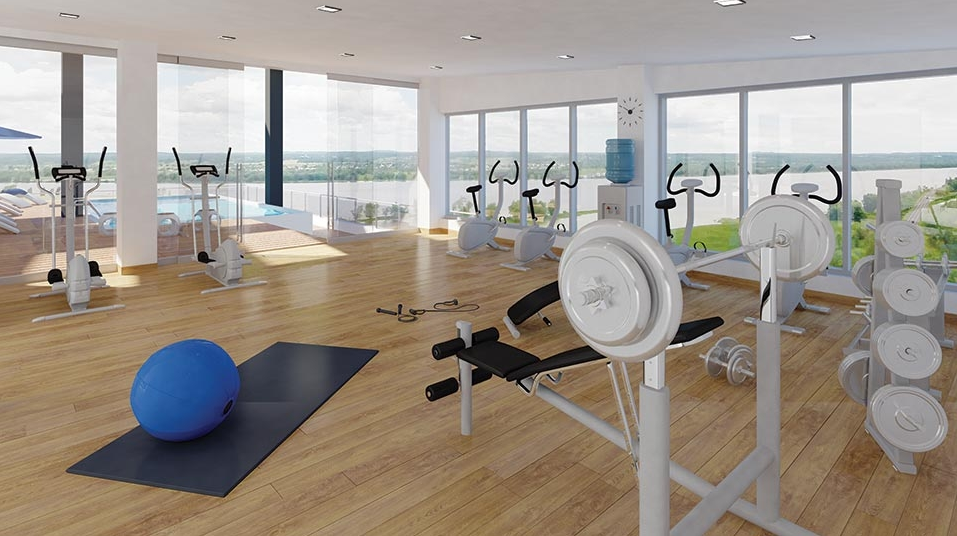 Luxury Condos for Sale Ottawa Gym