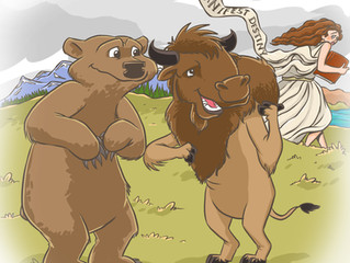 The Epic Shared Journey of Bison and Grizzly Bears