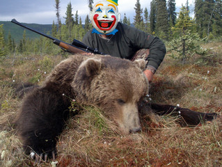 Hunting to Scare Grizzlies?