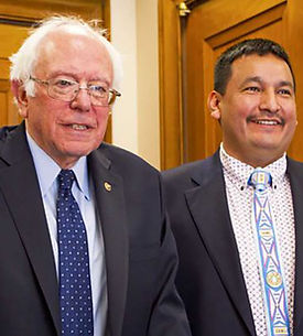 The Public Backs Grizzly Bears - Senator Bernie Sanders, Brandon Sazue, Crow Creek Sioux Tribe