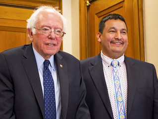 Senators Bernie Sanders, Cory Booker, Tom Udall Back Tribes in Grizzly Fight