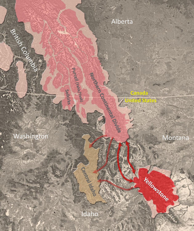 Map By David Mattson