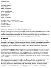 Mattson_GBAC letter to Bullock et al_9-1