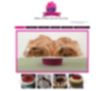 Get Frosted Bakery Website Design 2013
