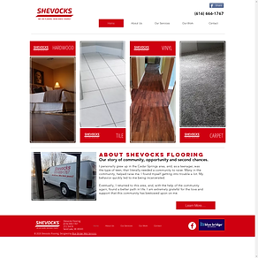 Shevocks Flooring Website